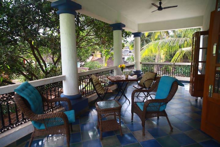 Casa Susegado, Charming 3BR Villa Near Panjim, Goa - Ribandar - Daire