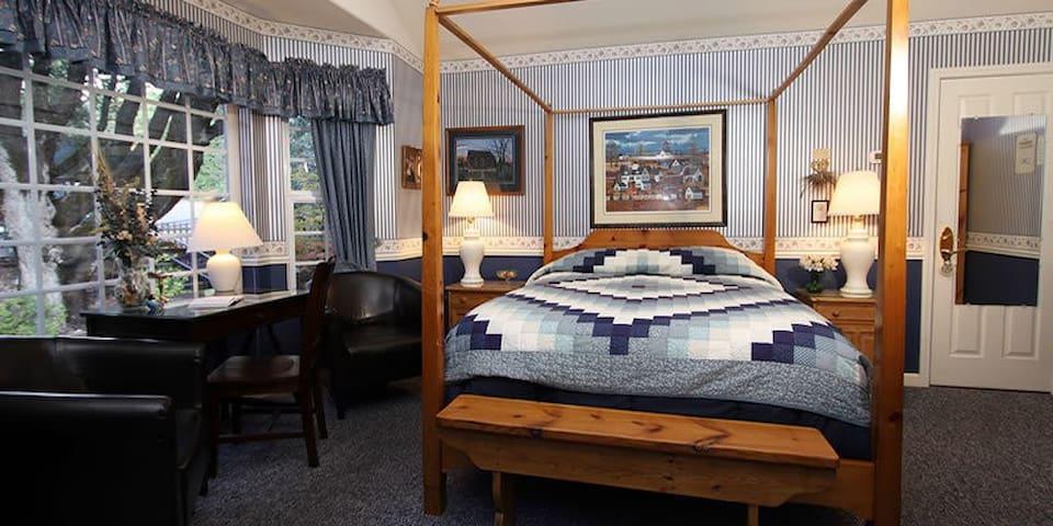 Blue - McCaffrey House Bed & Breakfast Inn