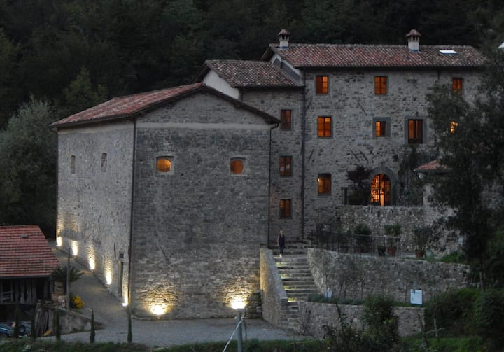 A spiritual paradise in Tuscany .