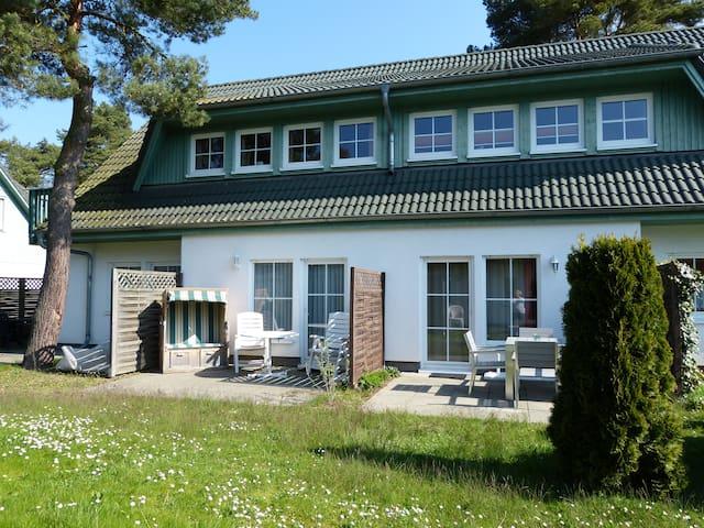 Idyllische Ferienwohnung auf Usedom - Zinnowitz - Daire