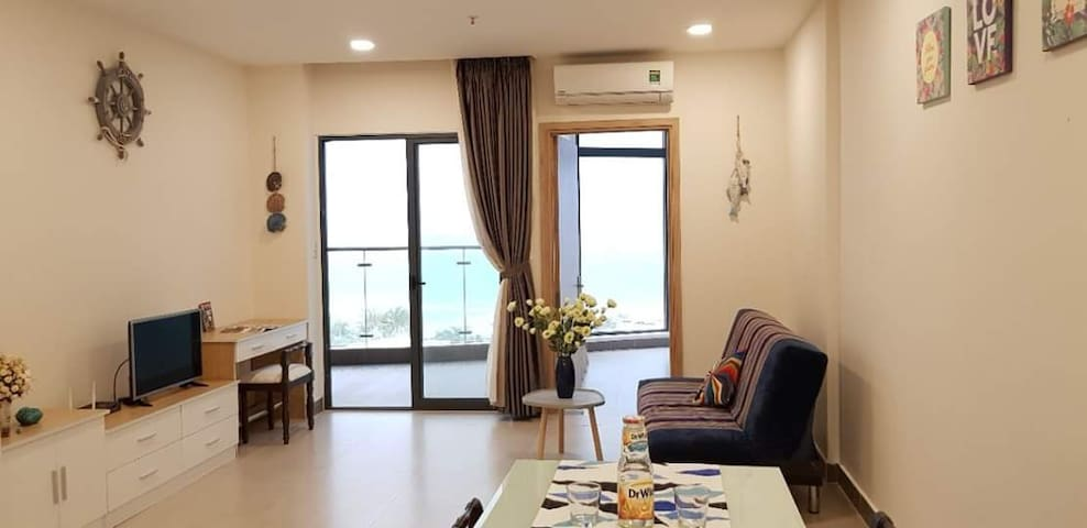 Oceanfront apartment with 02 bedrooms in Vungtau