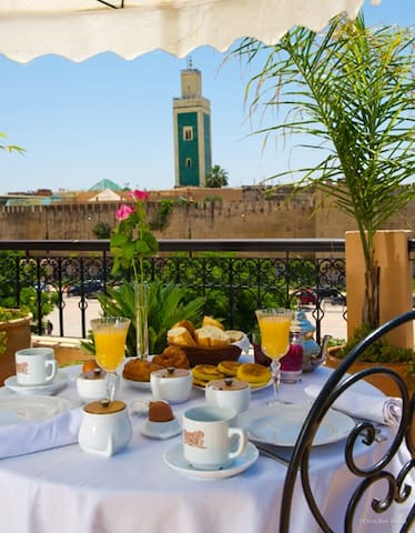 Riad Yacout  Chambre Standard - Meknes - Bed & Breakfast