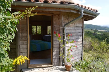 Wooden round house  - Mirepoix