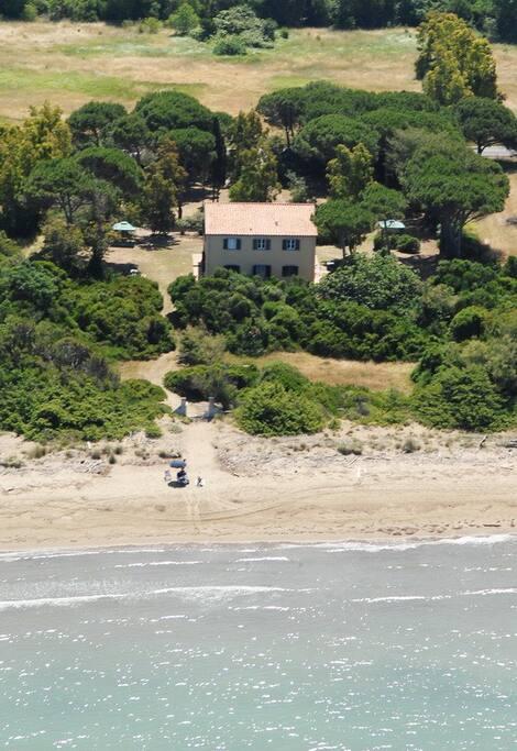 casale sulla spiaggia