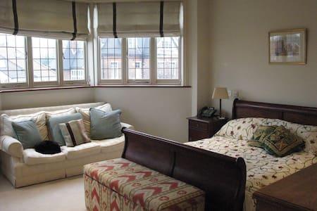 Large light ensuite double bedroom - London - Rumah