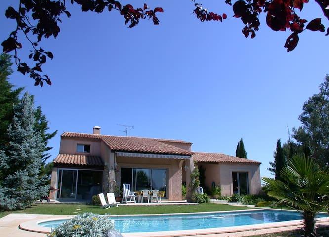 Flat for 2 wth pool nr Montpellier! - Saint-Clément-de-Rivière - Lägenhet