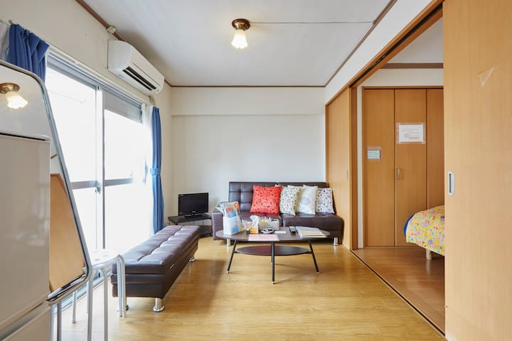 4Room2Bath/COZYTOKYOBASE/GINZA/TSUKIJI Walk/43 - Chuo-ku(中央区) - Wohnung