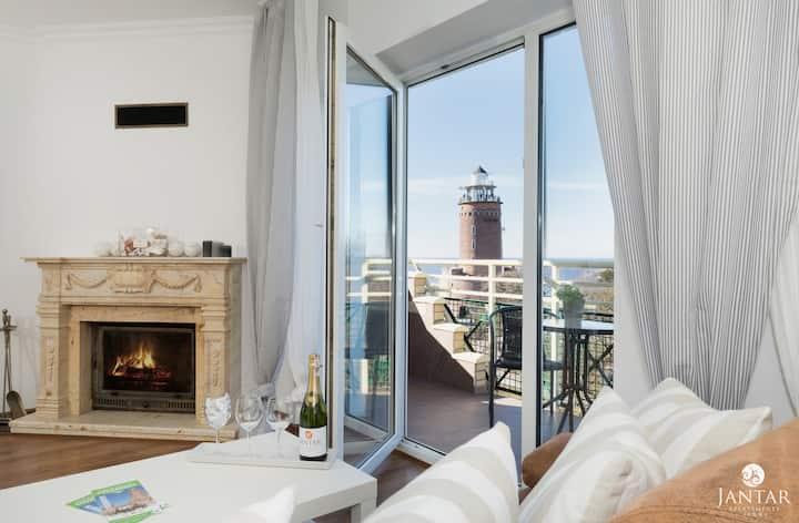 83 Sea View - Penthouse z widokiem na morze