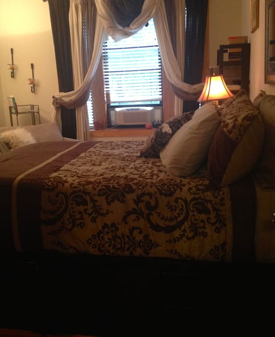 Master Bedroom - New bedding for your comfort