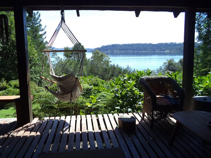 Casa orilla Playa, Lago Panguipulli