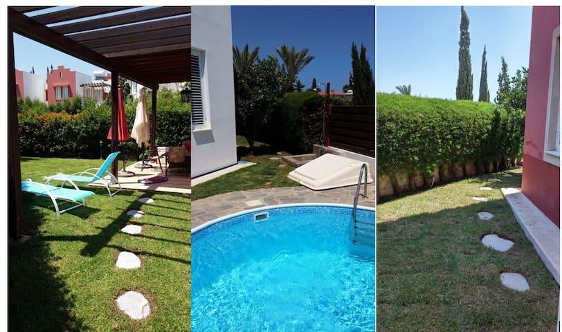 Villa Evridiki: сад, бассейн; Комплекс у моря... - Perivolia - 別墅
