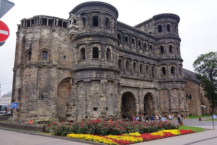 The Porta Nigra in Trier Gateway to Roman History in Germany's Oldest Town