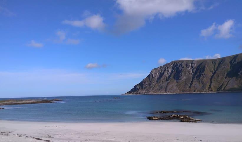 """Serene, white sand, almost """"private"""" beach ;)"""