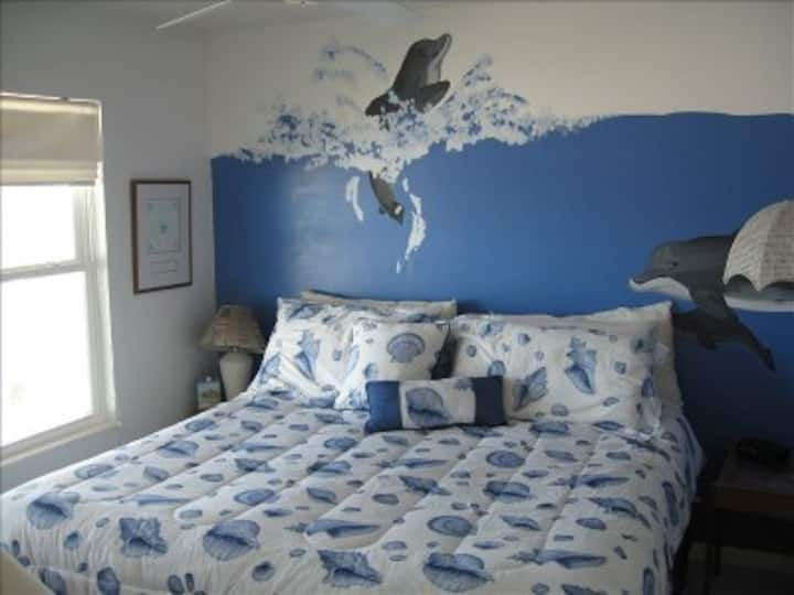 """The Dolphin Room at """"The Pink Palace of Topsail"""""""