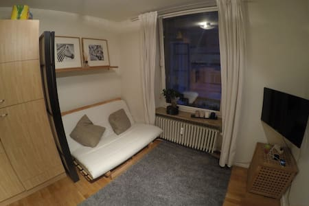Lovely double sofa bed in centre - Luxembourg - Apartamento