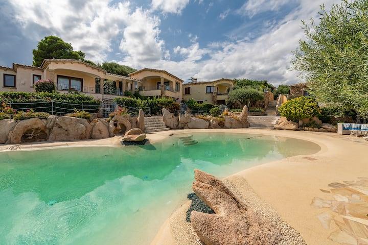 VILLA PISCINAMARE 3,prestigious villa with