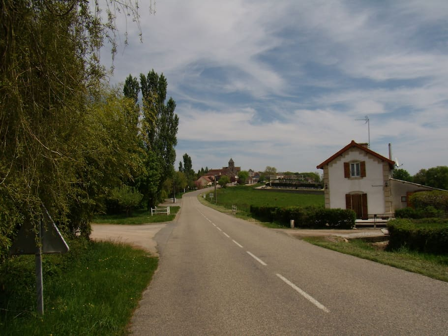 road to the village