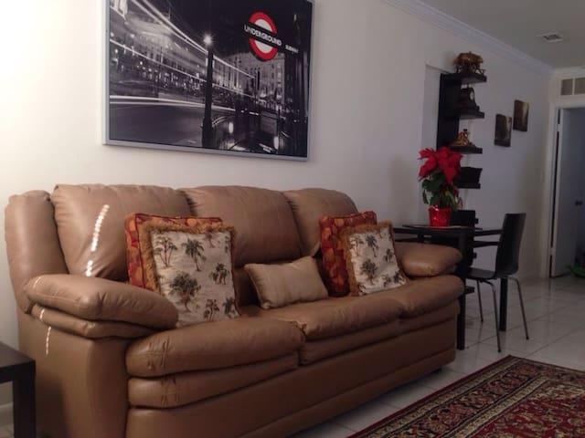 Centrally Located Miami House Studi