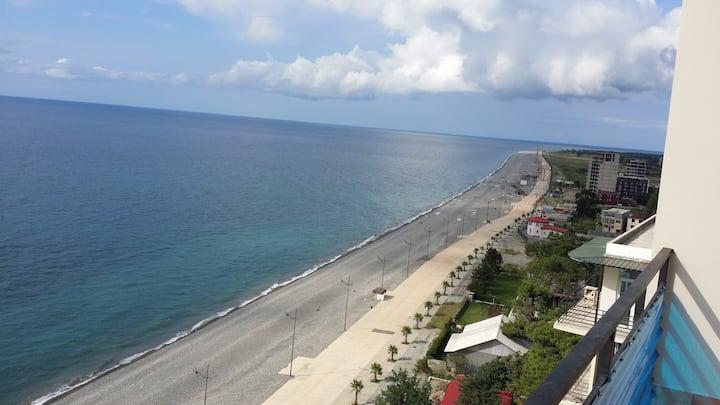 Strandwohnung mit wunderschöne Meer Blick von13Et
