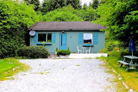 Loch Ness Forest Lodge with Mountain View - Invermoriston - Bungalo