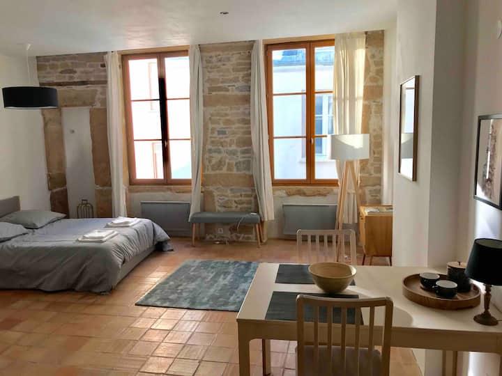 Cosy studio apartement in Lyon,  Croix-Rousse.