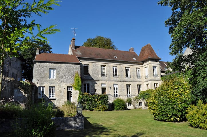 18th Century Manor 45mn from Paris - Crépy-en-Valois - Casa