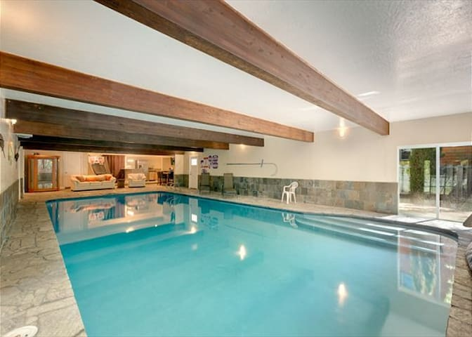 5 BR 4 BA with Largest Indoor Pool! - Zephyr Cove - House
