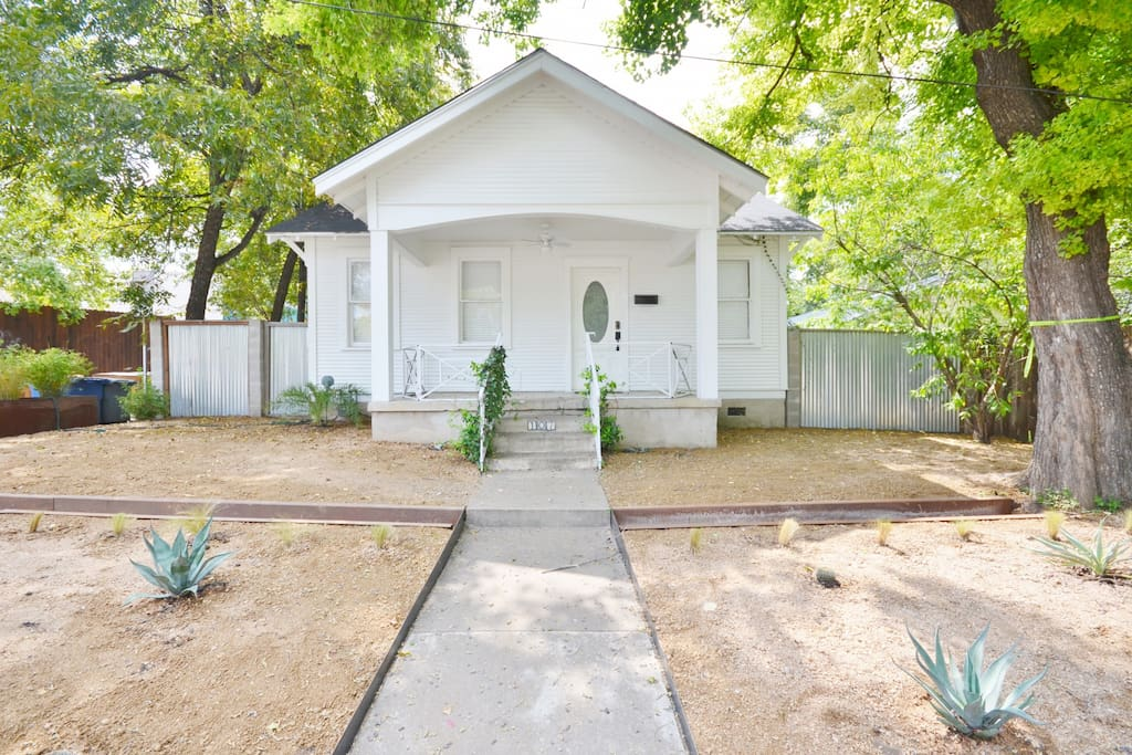 Perfectly located, newly remodeled, unique South Congress 2 bedroom home.