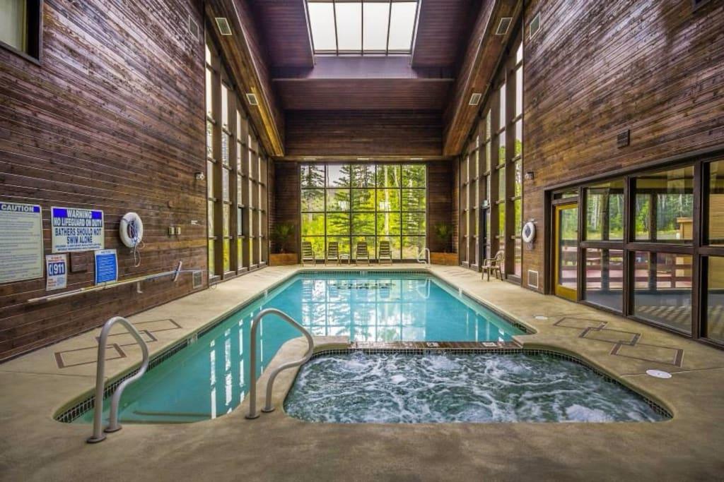 Pool/jacuzzi/sauna/gym
