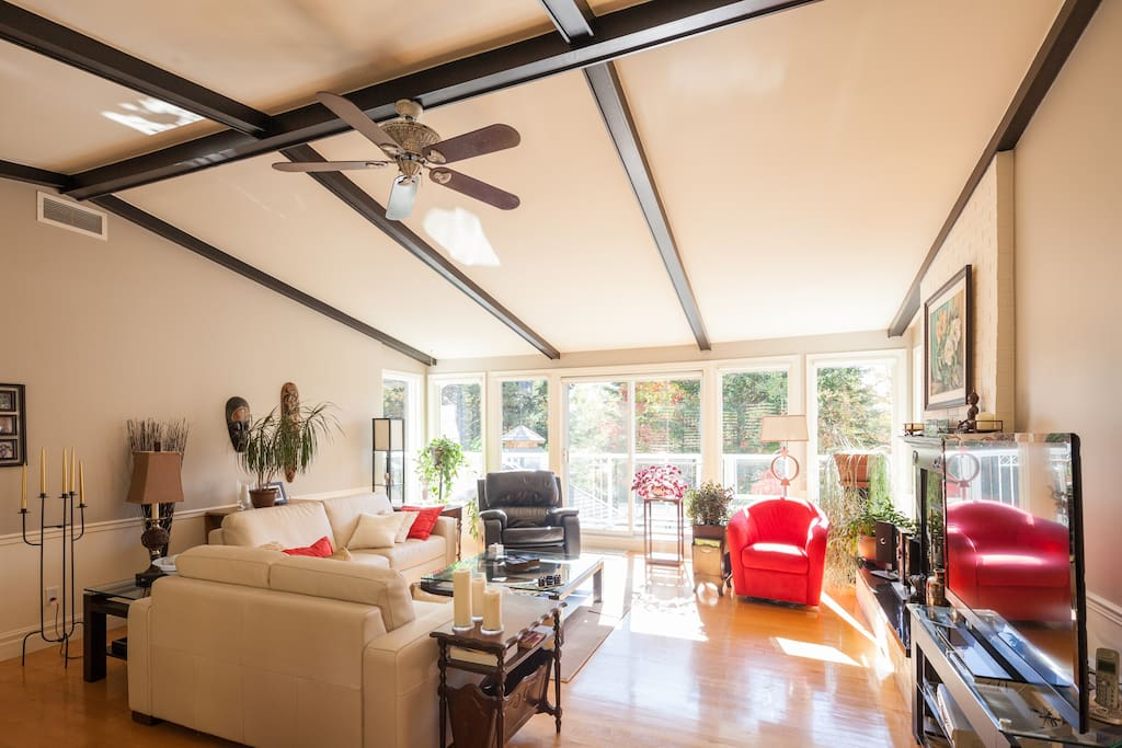 le g te delageois bed breakfasts louer lac delage. Black Bedroom Furniture Sets. Home Design Ideas