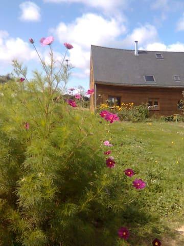 Maison en bois campagne/rivière/mer - Arzal - Dům