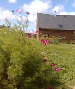 Maison en bois campagne/rivière/mer - Arzal