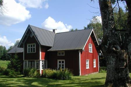 Villa Birkenlund Holzhaus von 1913 - Holsljunga