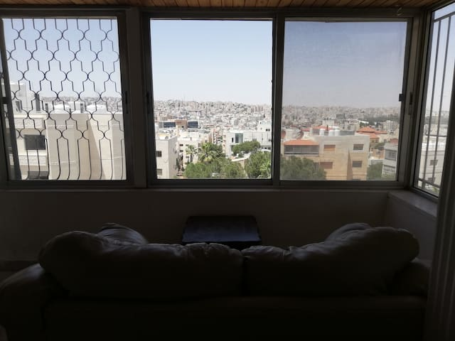 In the heart of Amman and top roof, the best view