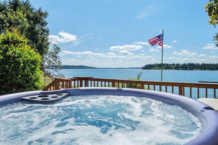 Anderson Island Luxury Beach Home