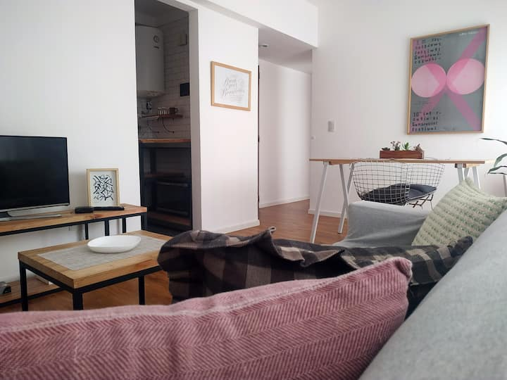 Sunny and cozy apartment in the heart of Palermo
