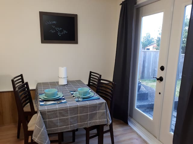 5⭐️ BluBirch 2 bedroom suite in Campbell River