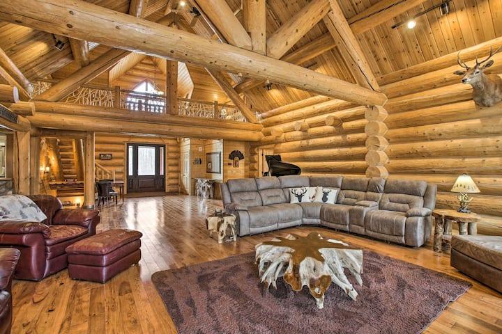 NEW! Secluded, Luxury Lodge < 15 Mi to Boyne Mtn!