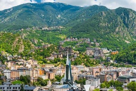 Grand appartement avec vue - Andorra la Vella - Huoneisto