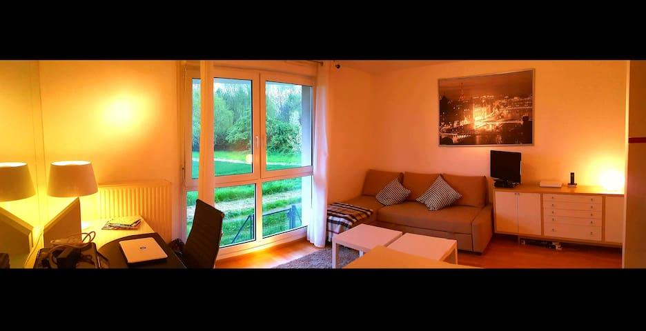 Studio Strasbourg Robertsau calme en pleine nature - Straatsburg - Appartement