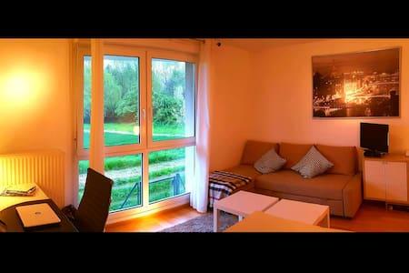Studio Strasbourg Robertsau calme en pleine nature - 斯特拉斯堡 - 公寓