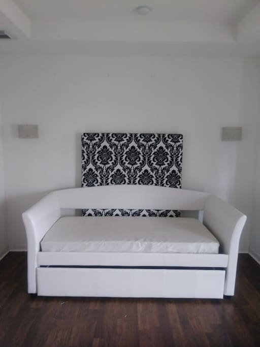Sofa double twin bed