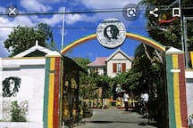 10 mins from the Bob Marley Museum