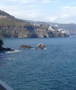 海まで10秒絶景の温泉付きリゾートマンション釣りや磯遊びに冒険気分!! - 热海市 - 别墅