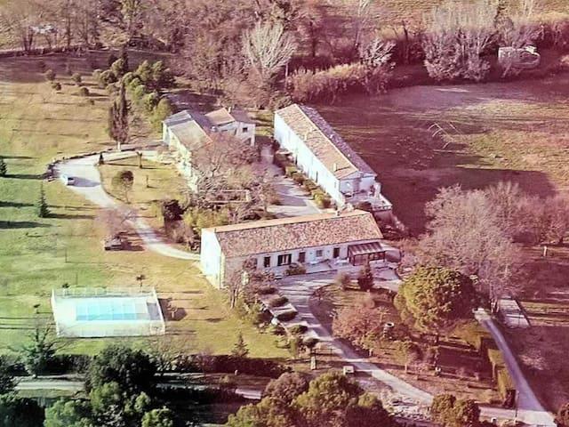 Gîte Mas à la campagne, piscine, calme et nature - Saint-Séries - Appartement