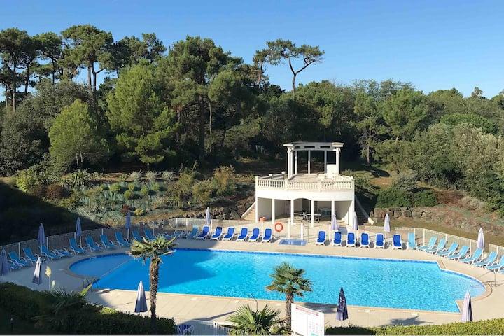 Les Sables d'Olonne- résidence piscine chauffée