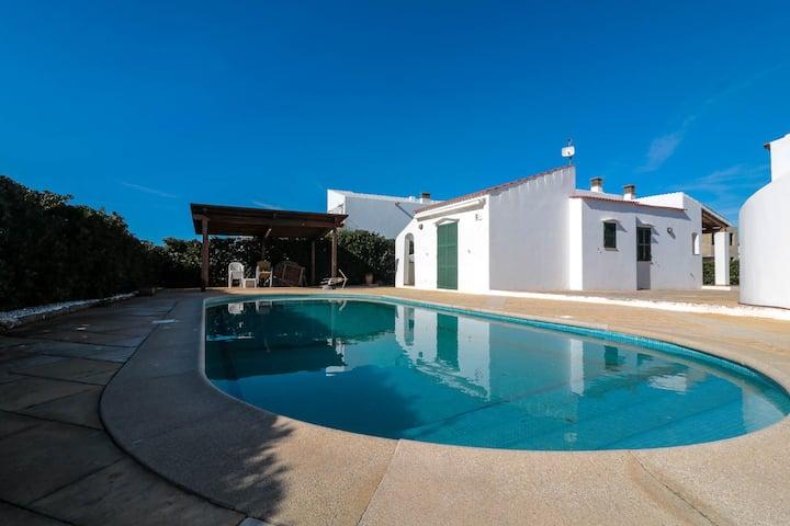 Villa en planta con vistas al mar Cap D'Artruix