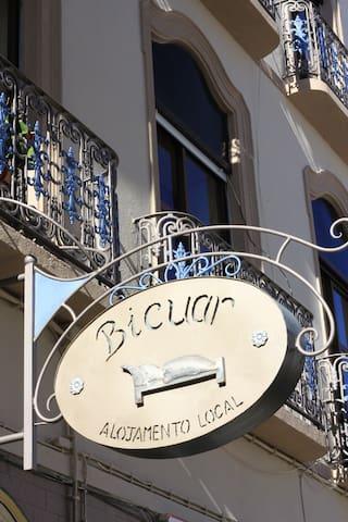 "Pensão Bicuar, ""Azeitona"" Double, #20, 2nd Floor (private shower, shared WC)"