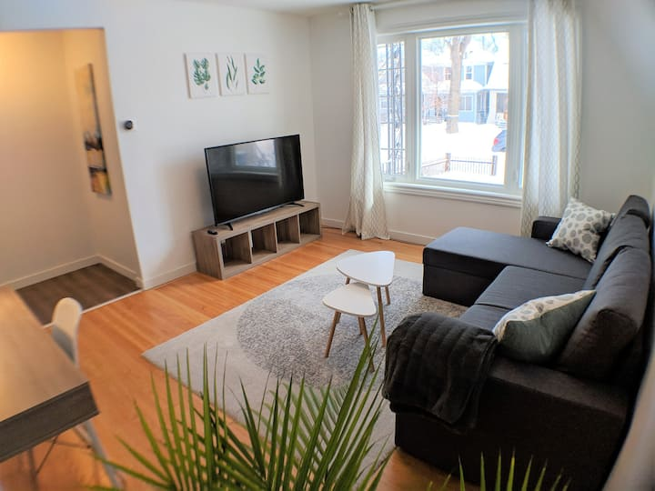 ★Cozy Wolseley 2 brdrm★ Central & Newly Renovated