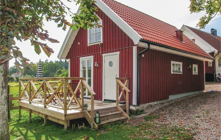 Beautiful home in Hallaröd with WiFi and 1 Bedrooms